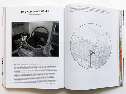 Photo showing a spread from Little Worlds, a book by Natasha Sandmeier