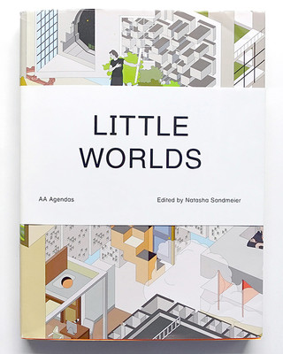 Front cover of Little Worlds, a book by Natasha Sandmeier