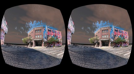 VR view of Leaky L.A.