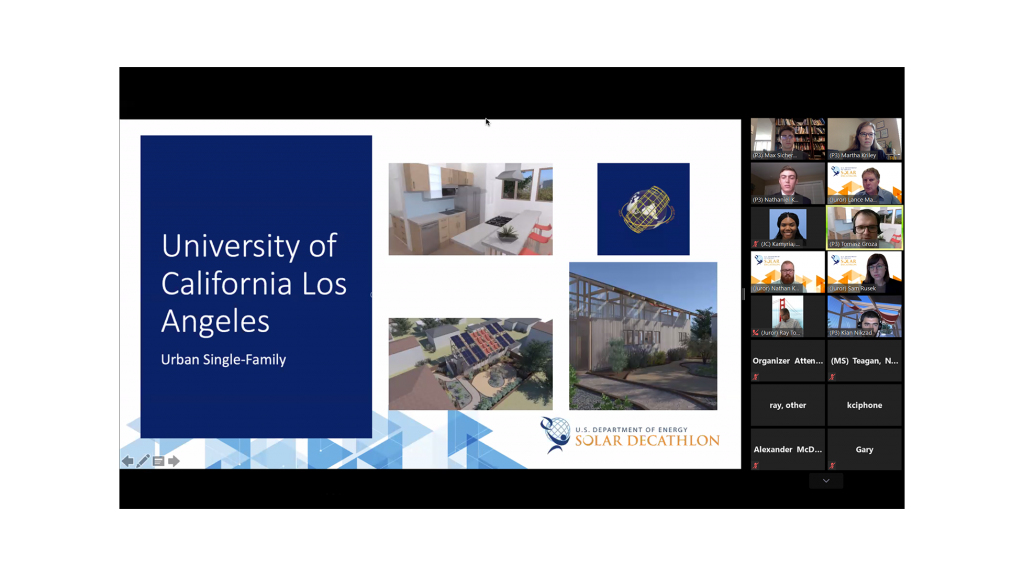 Screenshot of a Zoom meeting presentation