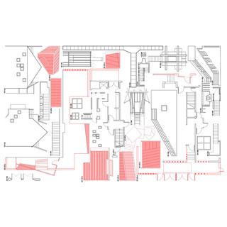 Floorplan drawing of building