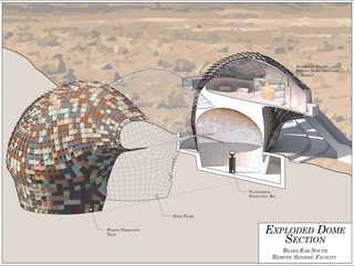Student work from the advanced topics studio, Bears Ears National Monument