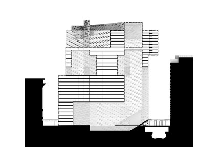 Section drawing.