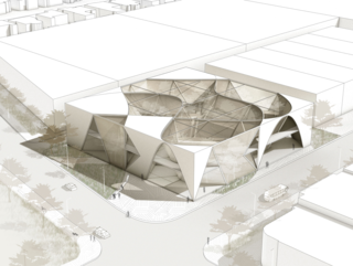 Student work from the winter 2021 Building Design Studio