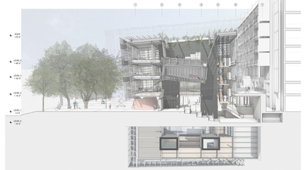 Student work from the winter 2021 Comprehensive Design Studio