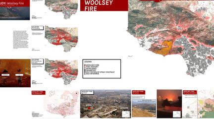 Case study of the Woolsey Fire