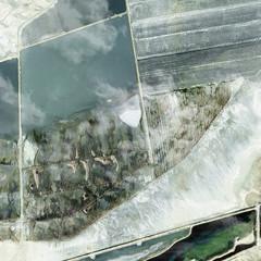 Rendering of aerial landscape